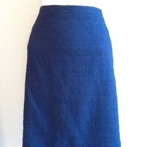 J. Crew Pencil Skirt in Tonal Tweed